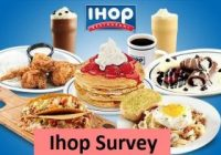 IHOP Customer Satisfaction Survey
