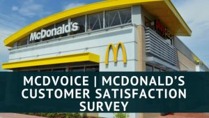 McDonald's Customer Satisfaction Survey